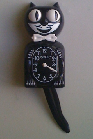 The Allee Willis Museum Of Kitsch 187 Kitty Cat Clock