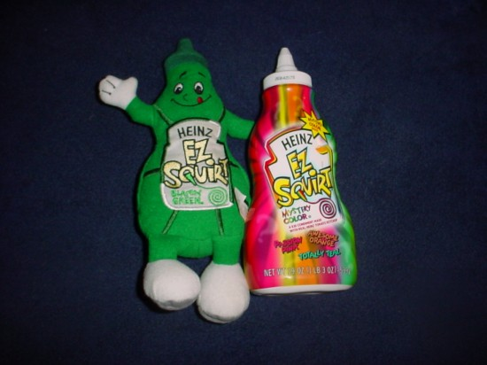 heinz ez squirt To Be Discontinued..