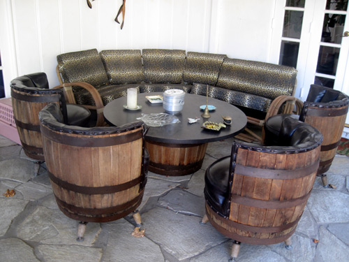 - The Allee Willis Museum Of Kitsch » Vintage Barrel Table & Chairs