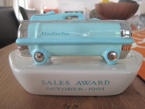 "Vintage Electrolux Vacuum Vintage ""electrolux"" Ashtray"