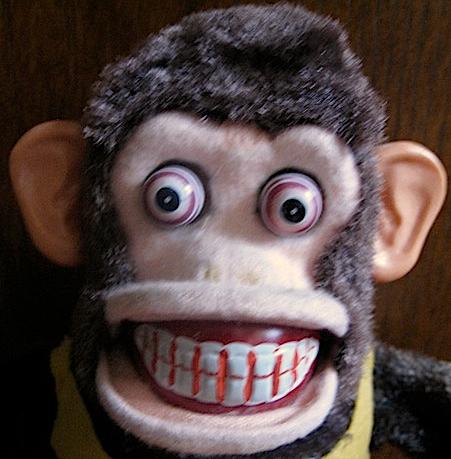 Scary Monkey Face