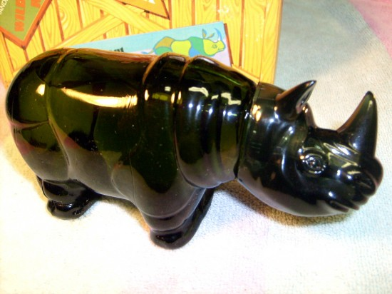 The Allee Willis Museum Of Kitsch 187 Avon Rhino Cologne Bottle