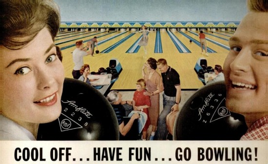 Image result for vintage bowling