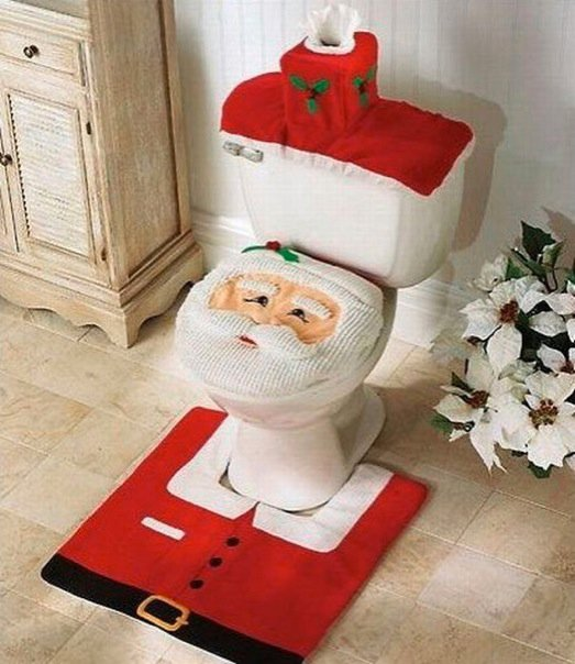 Santa Clause Commode