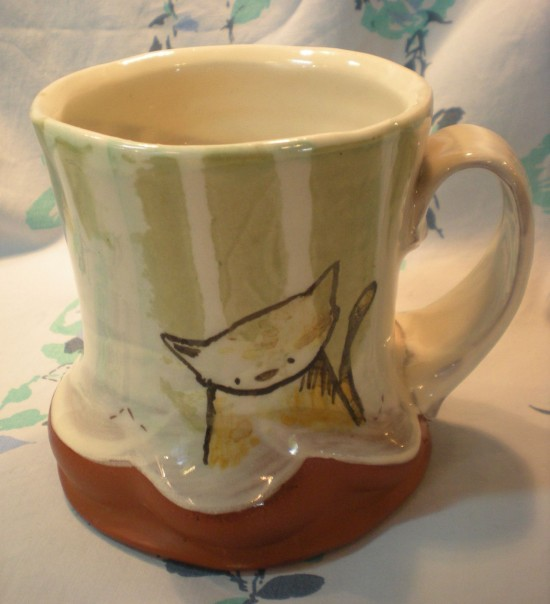 The Allee Willis Museum Of Kitsch Pottery Sale Cups