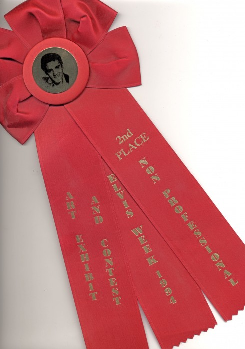 elvis ribbon253