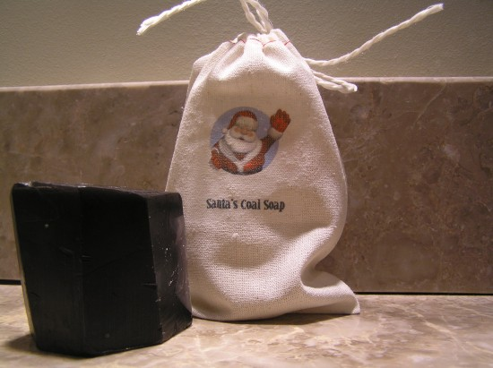 New Santa Coal Soap 300dpi