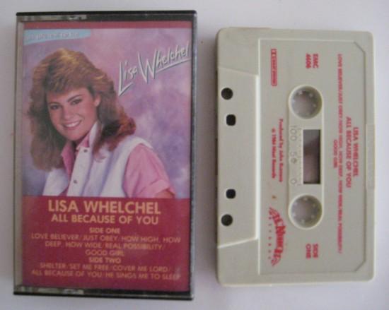 Lisa Whelchel cassette tape