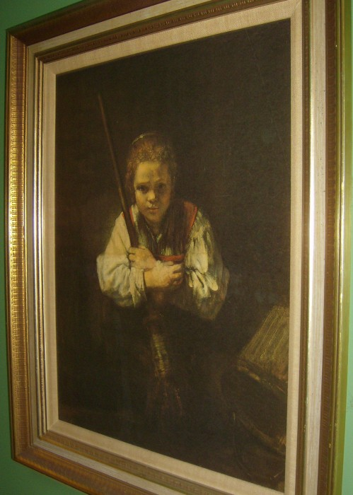 The Allee Willis Museum Of Kitsch 187 Girl With A Broom A