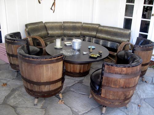 Wine Barrel Wine Rack with door by Forgetmenotdecor on Etsy, $300.00 ...
