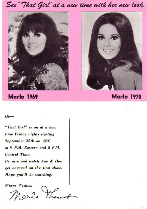 In 1970 not only did Ann Marie get engaged but she changed her hairstyle