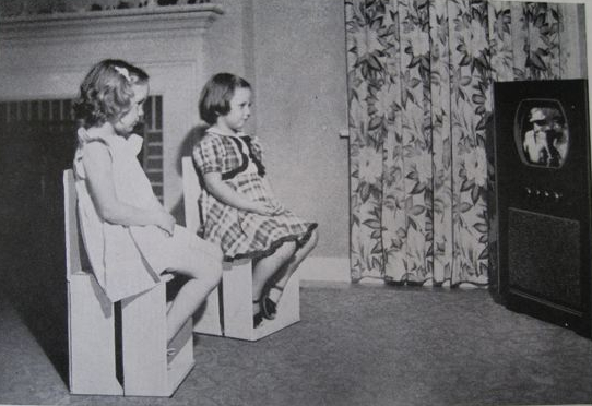 Judging By The Photo Below, Of The Stiff Little Girls Sitting On The Crate/chairs,  One Realizes Thereu0027s A Fine Line Between Family Crafts Projects And Child  ...
