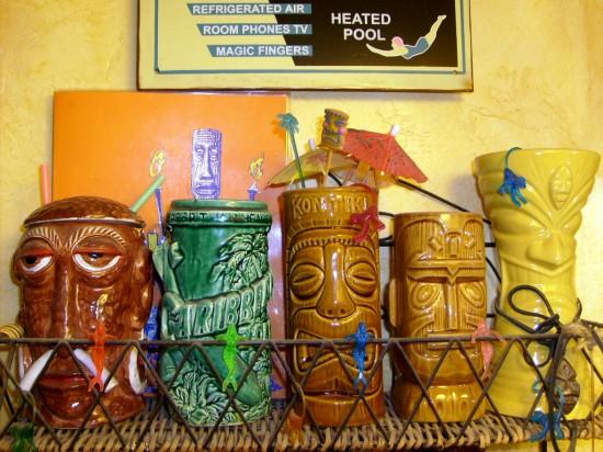 The Allee Willis Museum Of Kitsch 187 Tiki Bathroom