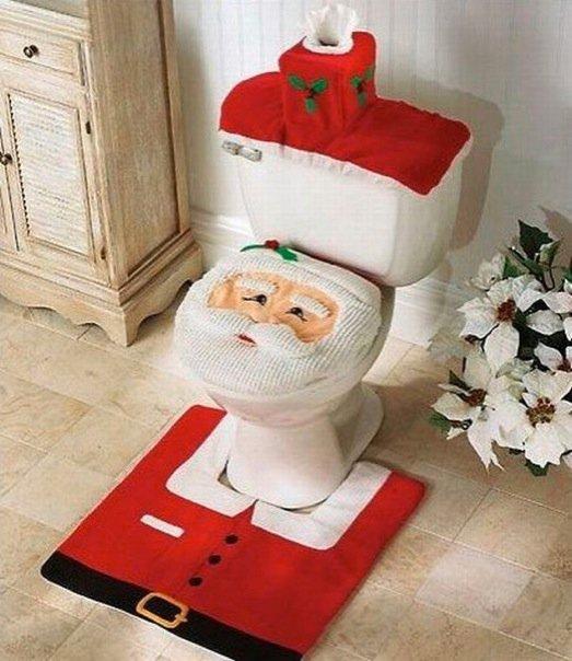 Santa Clause Commode