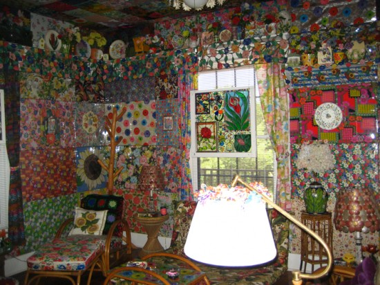 The Allee Willis Museum Of Kitsch 187 Jenna Radke S Casa Rio De Colores In Liberty Hill Texas