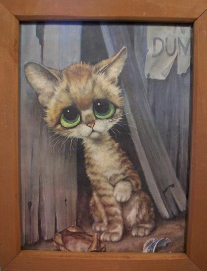The Allee Willis Museum Of Kitsch 187 3 Keane Like Cat